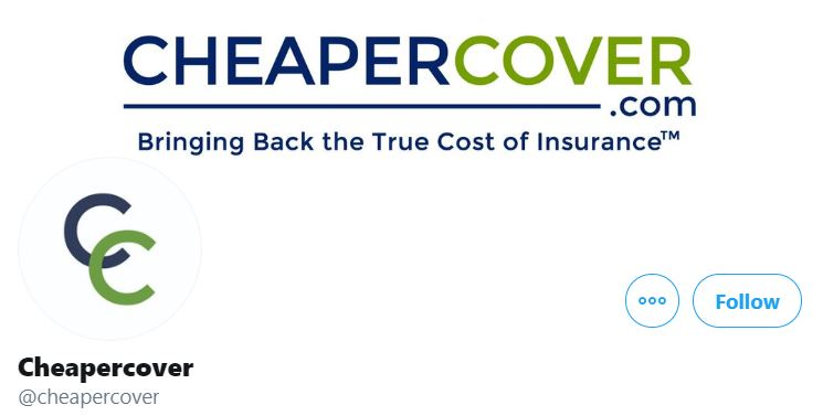 CheaperCover Insurance Twitter Profile